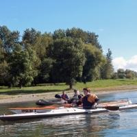 Abpaddeln auf dem Rhein 27.09.2015_13