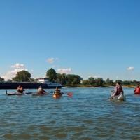 Abpaddeln auf dem Rhein 27.09.2015_14
