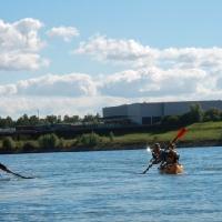 Abpaddeln auf dem Rhein 27.09.2015_17
