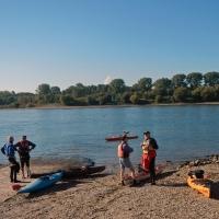 Abpaddeln auf dem Rhein 27.09.2015_1